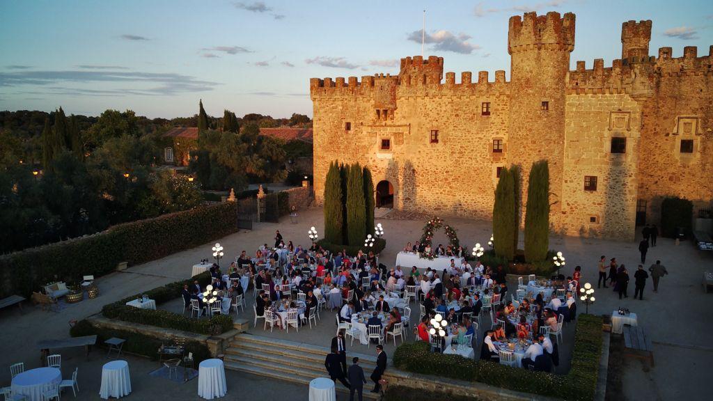 Castillo de la Arguijuela - Bodas en Cáceres